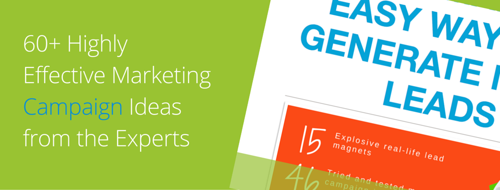 60  highly effective marketing campaign ideas